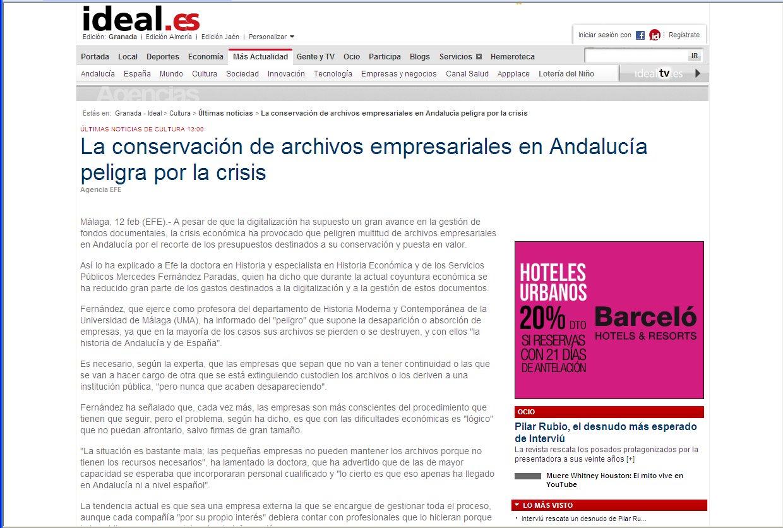 Archivos Empresariales Andalucía