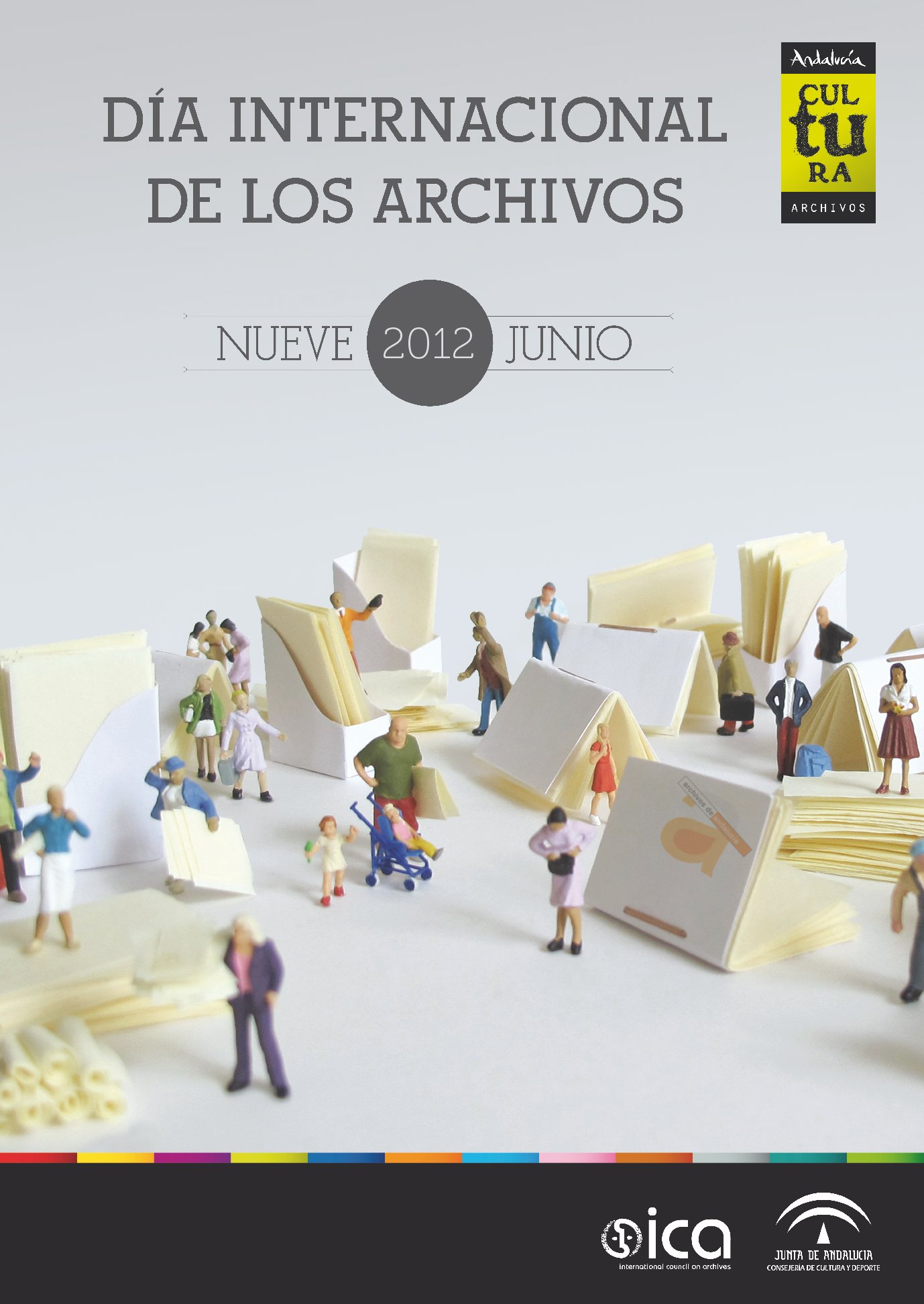 Cartel Día Internacional de los Archivos 2012