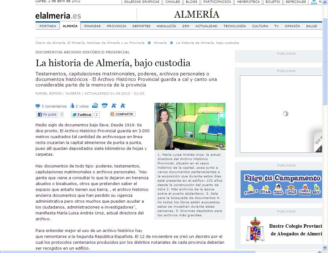 Historia Almería