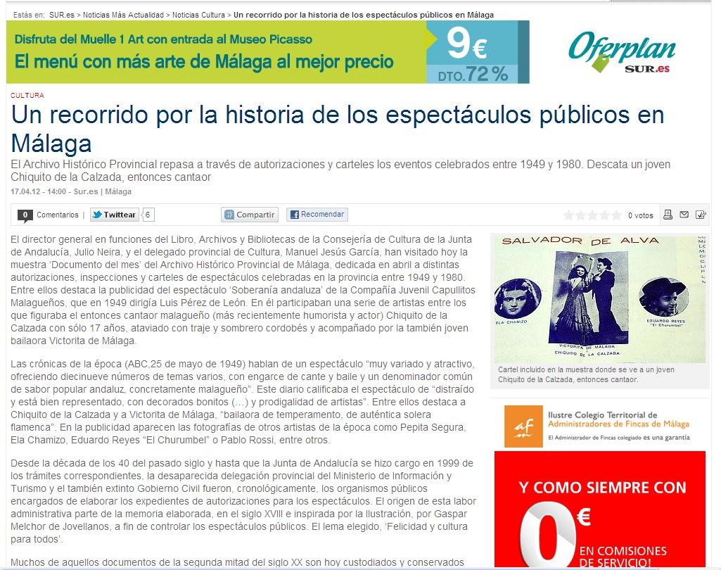 Historia Málaga