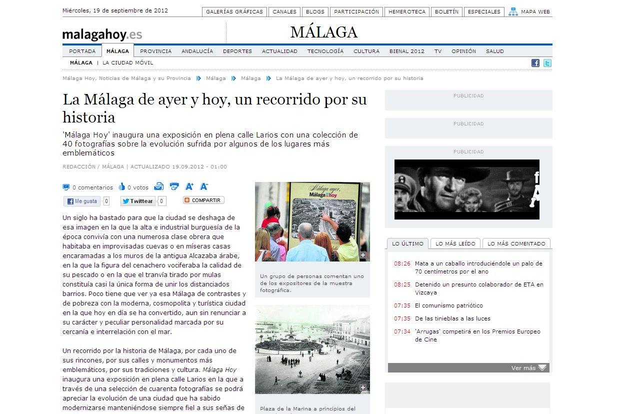 La Málaga de ayer