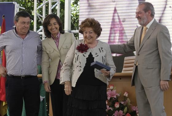 Antonia Heredia Herrera, medalla de oro de la Provincia de Sevilla