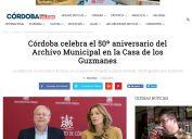 Córdoba celebra el 50º aniversario del Archivo Municipal en la Casa de los Guzmanes