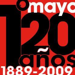 Cartel Exposición 120 años 1º de Mayo