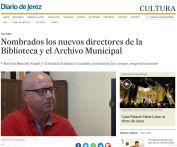 Nombrados los nuevos directores de la Biblioteca y el Archivo Municipal de Jerez