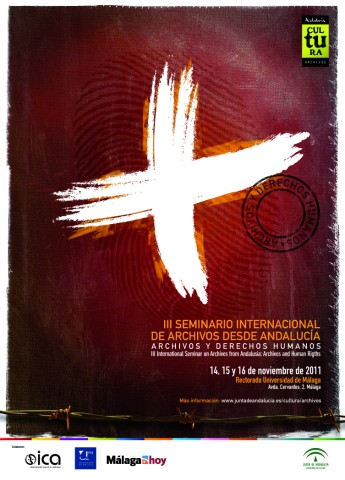 Cartel Seminario Internacional Archivos y Derechos Humanos