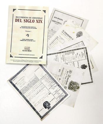 Colección de documentos del siglo XIX