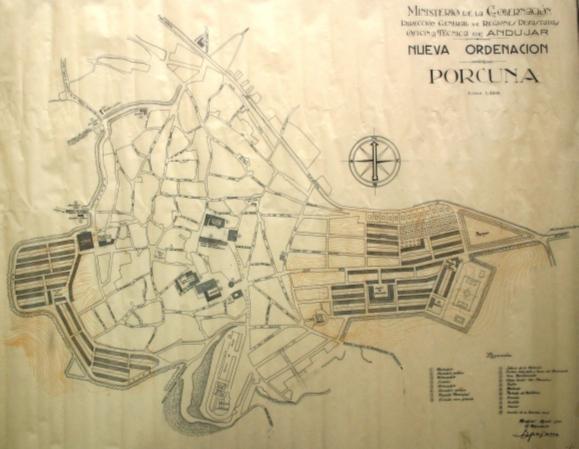 Plano nueva ordenación Porcuna