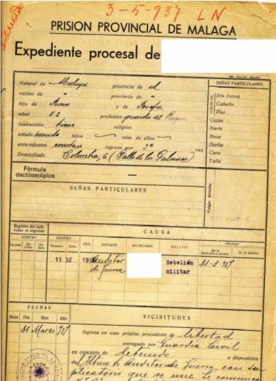 Prisión Provincial de Málaga