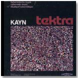 "Portada del disco ""Tektra"", Kayn"