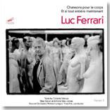 """Portada del disco """"Chansons pour le corps"""", Luc Ferrari"""