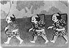 Fotograma de Mikan Bune (1927), de Ofuji Noburo