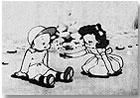 Fotograma de Maho No Pen (1946), de Kumagawa Masao