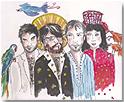 Las estrellas de David (David Rodríguez, Joe Crepúsculo, Ana Fernández-Villaverde y Jordi Irizar)