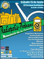 Cartel de RADIÓPOLIS-PODCAAC