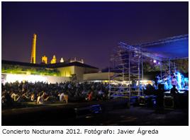 Cocierto Nocturama 2012. Fotografía de Javier Ágreda
