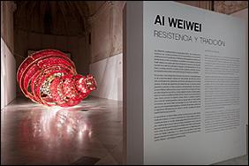 Imagen de la exposición 'Ai Weiwei. Resistencia y tradición'