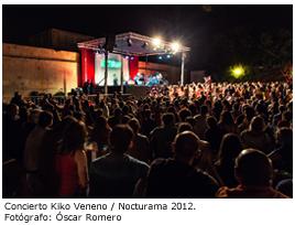 Concierto Kiko Veneno / Nocturama 212. Fotógrafo: Óscar Romero