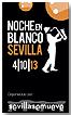 Cartel Noche en Blanco Sevilla 2013