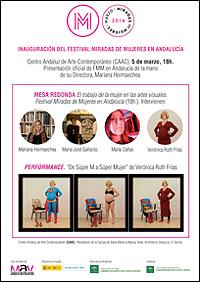 Inauguración del Festival Miradas de Mujeres en Andalucía