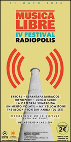 Cartel del IV Festival RADIÓPOLIS