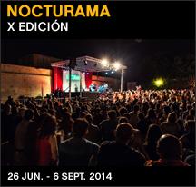 Imagen de un cocierto de la edici�n de 2012 de Nocturama. Fotograf�a de Javier �greda