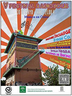 Cartel del V Festival RADIÓPOLIS