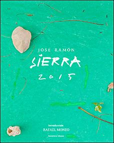 Portada del libro 'José Ramón Sierra 2015'