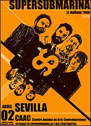 Concierto de Supersubmarina [Centro Andaluz de Arte Contemporáneo]