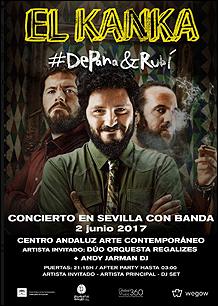 Concierto El Kanka [Centro Andaluz de Arte Contemporáneo]