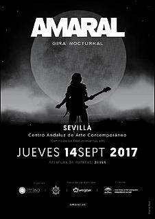 Amaral gira 'Nocturnal' [Centro Andaluz de Arte Contemporáneo]