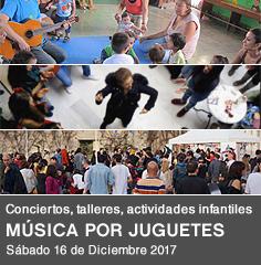 Música por juguetes - Edición 2017