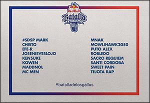 Batalla de Los Gallos - Semifinal Sevilla