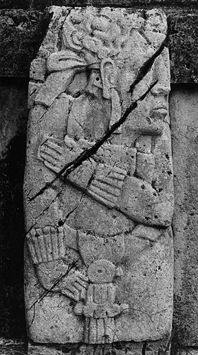 LEANDRO KATZ. Palenque I, 1992/2012. Fotografía B/N. Impresión digital. 50,8 x 40,5 cm.