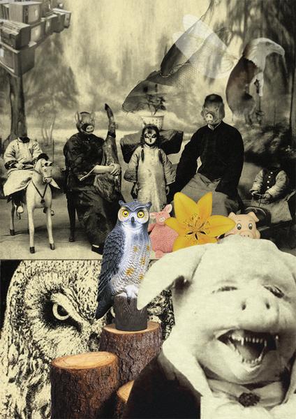 MARÍA CAÑAS. El Perfecto Cerdo, 2005. Vídeo, color, sonido 15' 5