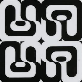 MANUEL BARBADILLO. Pesanía, 1970. Plexiglás. 100 x 99,5 cm
