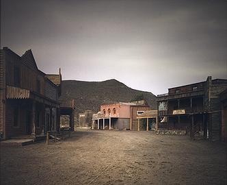 SERGIO BELINCHÓN. Western 04, 2007. Serie Western. 105,5 x 129 cm.  Fotografía digital sistema lambda