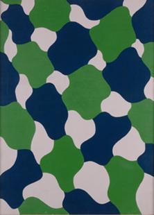 EQUIPO 57. Sin título, 1961. Óleo sobre lienzo. 120 x 86 cm
