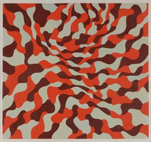EQUIPO 57. Sin título, 1961. Óleo sobre lienzo. 120 x 120 cm