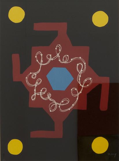 FERRÁN GARCÍA SEVILLA. 1989-2. Serie (1989). Nº en la edición: 38/75. Litografía 76 x 56 cm