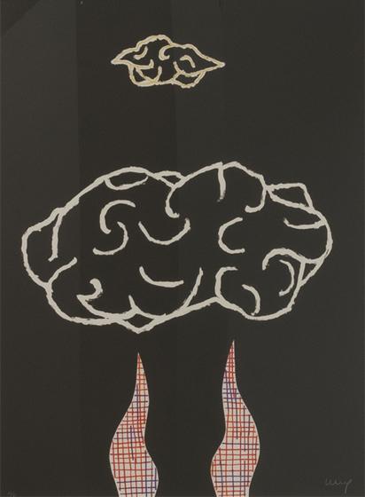 FERRÁN GARCÍA SEVILLA. 1989-5. Serie (1989). Nº en la edición: 38/75. Litografía 76 x 56 cm