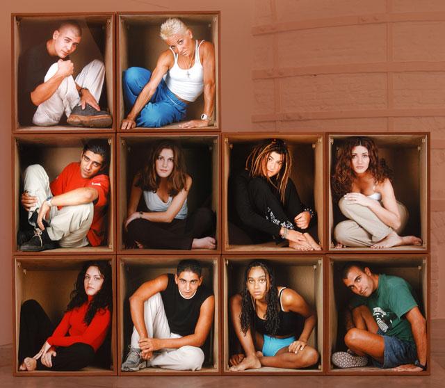 DIONISIO GONZÁLEZ. Rooms, 1999-2000. 10 módulos de 76 x 63 x 60 cm c/u. Fotografía, DM y luz