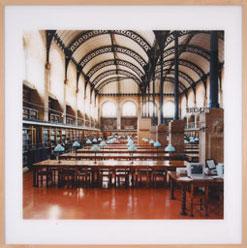 CÁNDIDA HÖFER. Biblioteca Santa Genoveva, París I, 1997. Serie AP 120 x 120 cm. C-Print