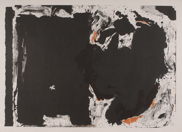 ROBERT MOTHERWELL. Lament for Lorca, 1981. 112 x 155 cm. Litografía
