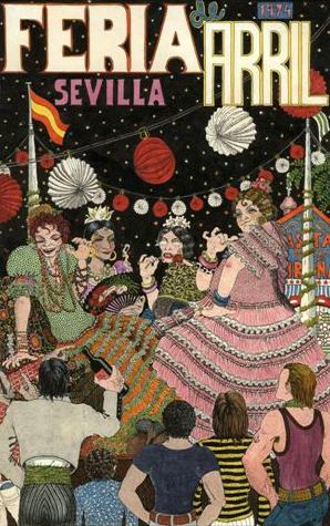 NAZARIO. Ilustración para la Feria de Arril, 1974. 39 x 26 cm. Dibujo. Lápiz, tinta china, acuarela y rotulador sobre papel