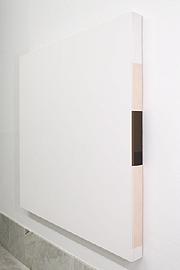 CÉSAR PATERNOSTO. The Sweetest Skin, 1970. 150,2 x 150,2 x 9,6 cm. Emulsión acrílica sobre tela.