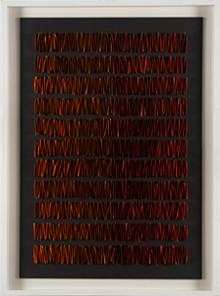 PAZ PÉREZ RAMOS. Sin título, 2010. Collage sobre cartón. 100 x 70 cm.