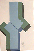 CARMEN SANZ LÓPEZ. S/T. 70 x 50 cm. Serigrafía