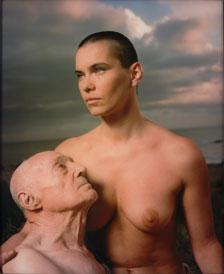 ANDRÉS SERRANO. Una historia de sexo (Antonio y Ulrike), 1995. Nº Edición 1/7. 100 x 81 cm. Fotografía (Cibachrome)