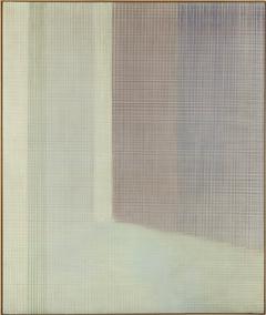 SOLEDAD SEVILLA. Atmósfera serena, aura lánguida, 1984-85. Serie Alhambra. 220 x 186 cm. Acrílico sobre lienzo